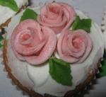 Rosey cupcakes